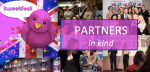 Partners in kind at Tweetfest