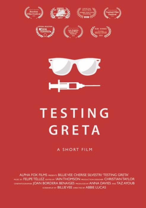 Testing Greta poster